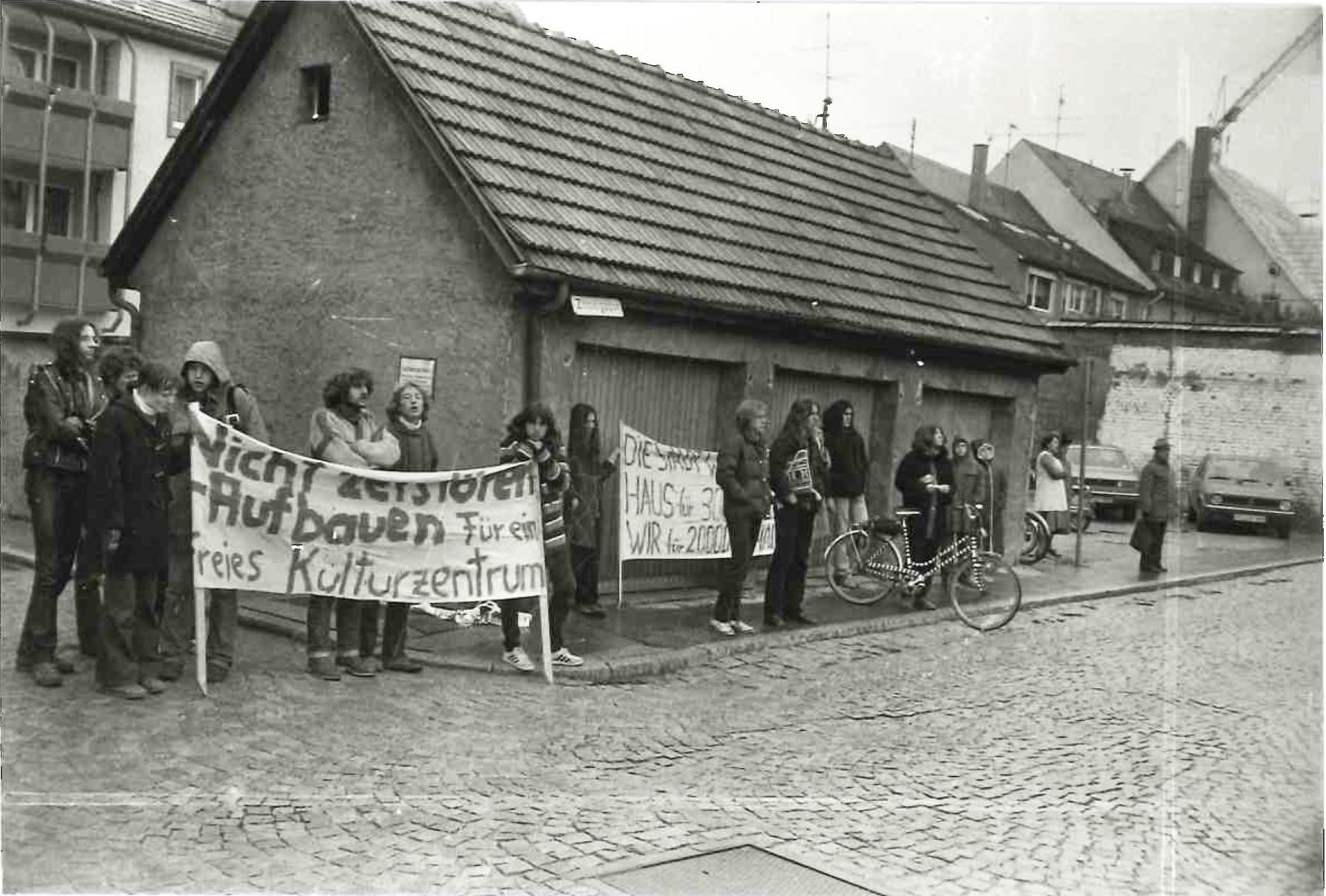 Hausbesetzung Milchzentrale 1985, Villingen-Schwenningen