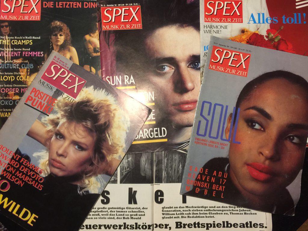 Spex Magazin, Blixa Bargeld, Sade, Kim Wilde, Cramps