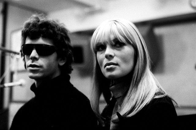 Lou Reed and Nico in the Studio