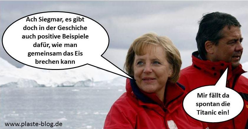 Angela Merkel Siegmund Gabriel