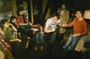 Pogo in im Kulturzentrum Landwatten 1984