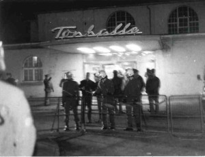 Anti-NPD Demo 1984 vor der Tonhalle